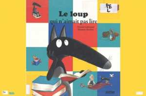 Animation multimédia jeune public L'heure du conte: Le loup qui n'aimait pas lire (4 - 6 ans) - Sur réservation