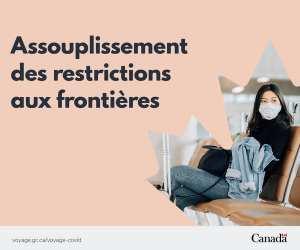 Depuis le 7 septembre, les voyageurs entièrement vaccinés peuvent entrer au Canada.