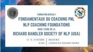 Niveau 1 Coaching PNL Certifiée Richard Bandler SNLP