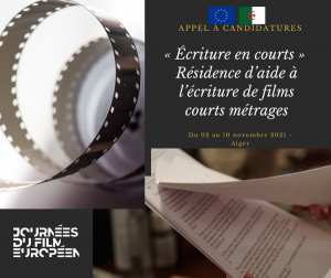 « Écriture en courts » - Résidence d'aide à l'écriture de films courts métrages (fiction et documentaire)