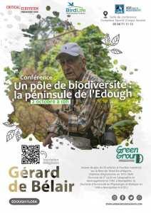 Green ground vous invite à sa première série de conférences dans le cadre de son projet sur la conservation de la biodiversité végétale de la péninsule de l'Edough.