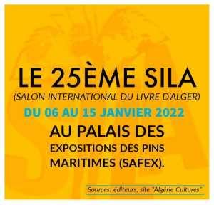 25ème SILA du 06 au 15 janvier 2022