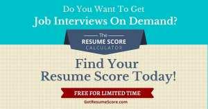 """Resume Score Maximizer"" — Do You Know Your Resume Score' — Algiers"