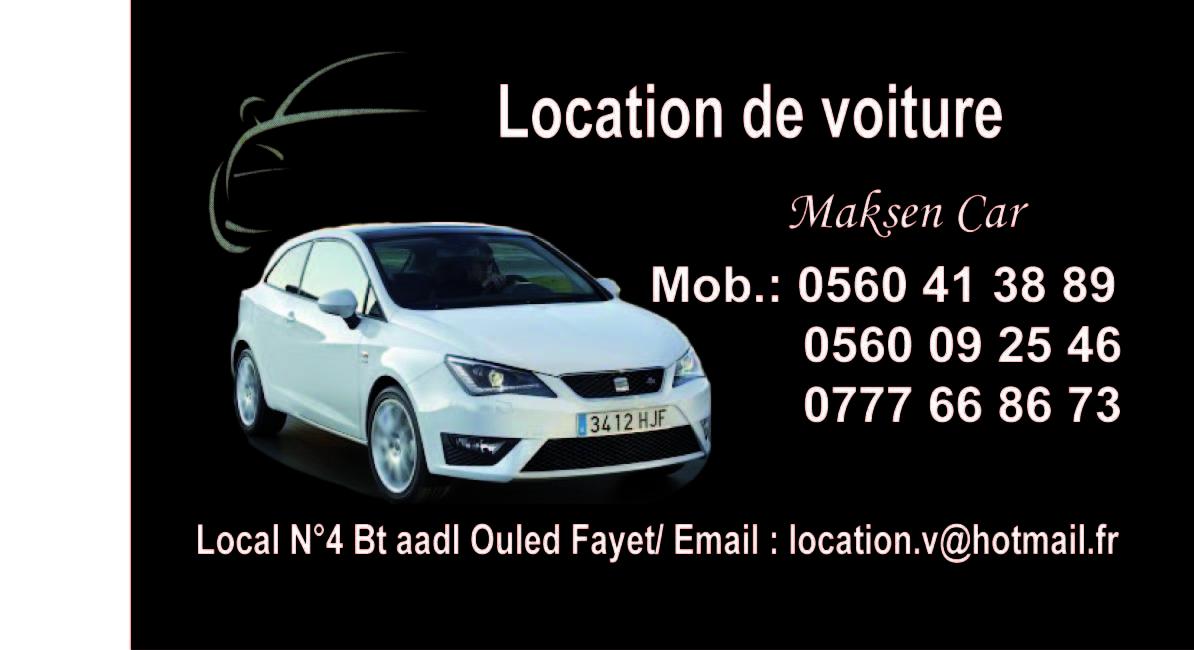 Agence de location voiture oran algerie for Agence de location