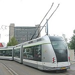 ALGER, Ligne El Anasser - Bordj El Kiffan ; Bouteflika lance aujourd'hui les travaux du tramway.
