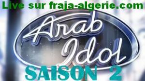 Arab Idol saison 2 en direct
