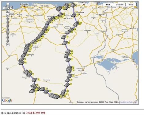 """الخارطة الجغرافية الجزائرية لها قابلية كبيرة في إحتواء نظام """"GPS"""" توسيع الخدمة مرتبط بإنطلاق تقنية الجيل الثالث"""