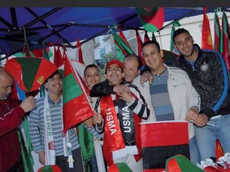 Le vert, le rouge et le noir dominent à Alger A J-4 de la grande finale de la coupe d'Algérie