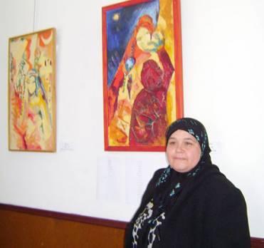 Secrets de femmes Yasmina Saâdoune à la galerie Issiakhem