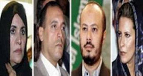 ليبيا تمنع عائلة القذافي من النشاط السياسي في عمان