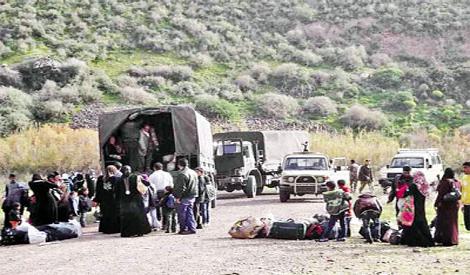الجيش الإسرائيلي يرحّل 100 عائلة في الضفة