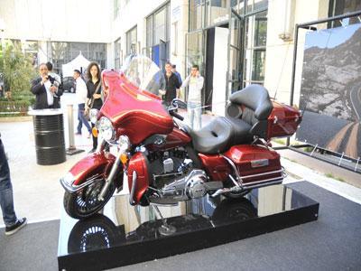 Harley-Davidson participe au Salon de l'automobile La reine des marques de motos a décroché trois ventes