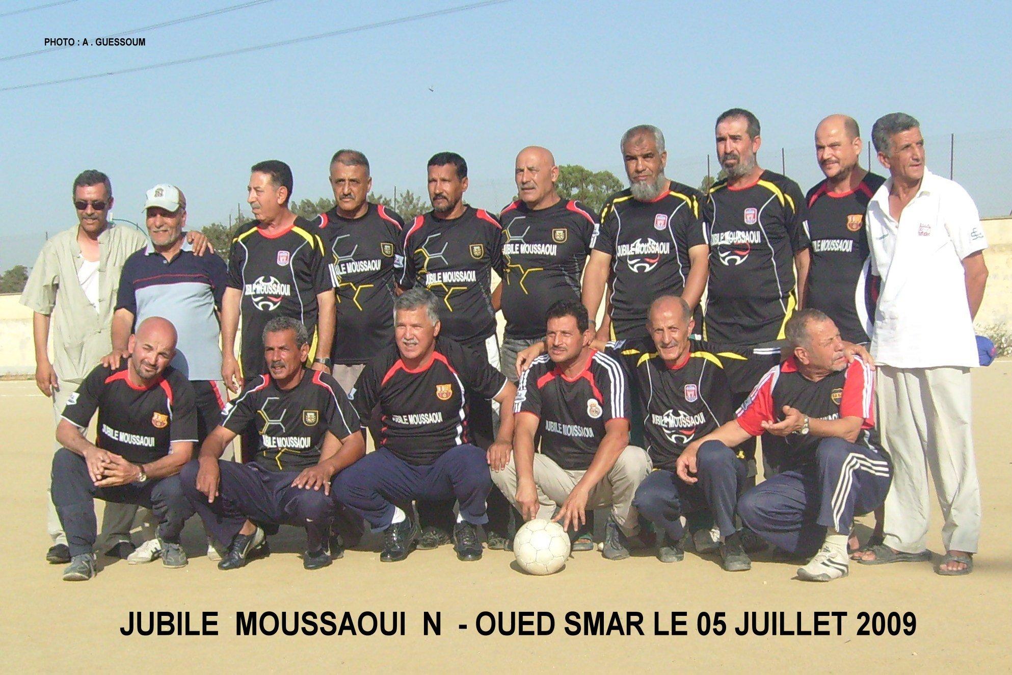 Jubil� Moussaoui Nacer OCB Beaulieu ( Oued Smar )