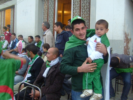 Match Algérie-Egypte du 14.11.2009