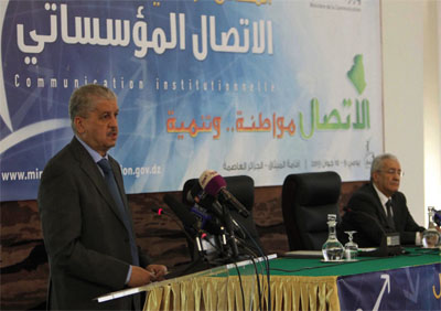 Sellal appelle à cesser les rumeurs sur le Président