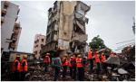 مقتل خمسة أشخاص إثر انهيار مبنى في مدينة مومباي الهندية