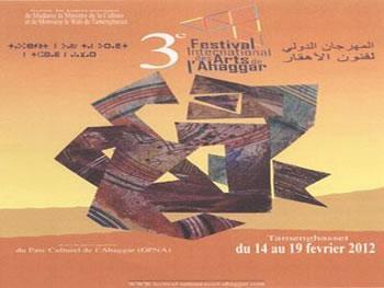 C'est déjà fini! 3E FESTIVAL DES ARTS DE L'AHAGGAR, TIN HINAN-ABALESSA