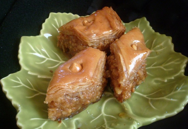 recette de baklawa a la pate filo