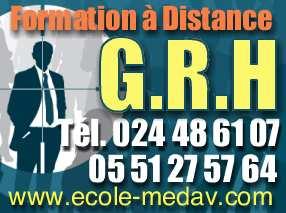 Formation G.R.H - Durée : 6 Mois