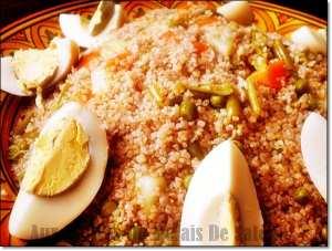 Couscous Kabyle Aux Légumes Vapeur Amekfoul Facile