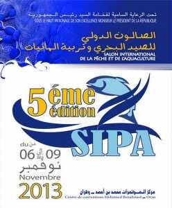 La cinquième édition du SIPA (Salon International de la Pêche et de l'Aquaculture), du 06 au 09 novembre 2013