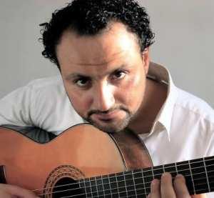 Tableau d'un artiste arabe