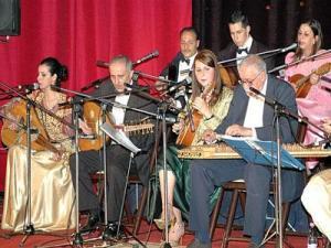 El Inchirah et Oranina à la troisième soirée du Festival international du malouf de Constantine