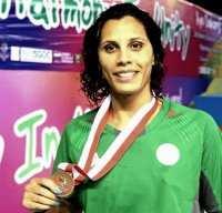 Natation (6ème et dernière journée) : Kouza Amira décroche le bronze au 50m brasse