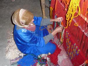 Naâma Ouverture 4ème salon régional des tissages de laine