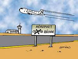 Aéroport de Béchar : Des aménagements sur la route