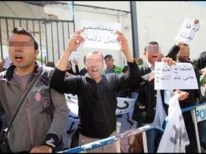 Des jeunes du préemploi réprimés devant le Palais du gouvernement<br/>Ils demandent la permanisation