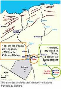Carte Algerie Reggane.07 Occupation Francaise Adrar Histoire Articles