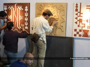 Exhibition entitled « Earth and Clay » at the air Theater of Tlemcen