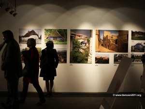 افتتاح معرض الفن المعماري من الأتربة و الطين بمسرح الهواء الطلق لمدينة تلمسان