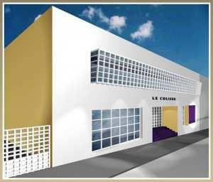 Rénovation et équipement de la salle de cinéma « le Colisée » :