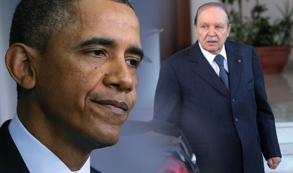 رسالة الرئيس الأمريكي باراك أوباما للرئيس عبد العزيز بوتفليقة
