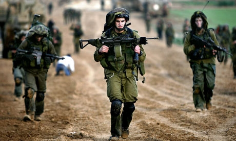 الكيان الصهيوني يستدعي 40 ألف جندي احتياط تمهيداً لهجوم بري محتمل على غزة
