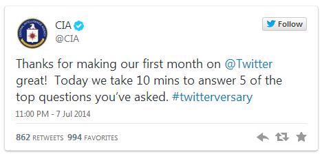 السي آي آي تجيب عن 05 أسئلة على الانترنت
