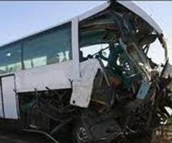 7 قتلى وجريح في انقلاب حافلة من على جسر بمعسكر