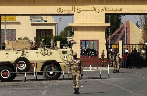 مصر تفتح معبر رفح لعبور الجرحى