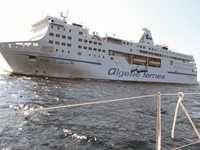 Liaisons ferries Algérie-Italie