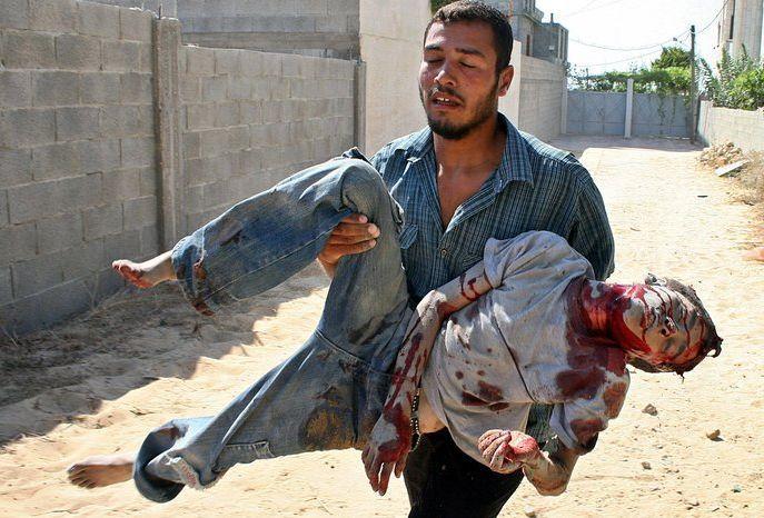 La LADDH condamné fermement les attaques militaires d'Israël dans la bande de Gaza