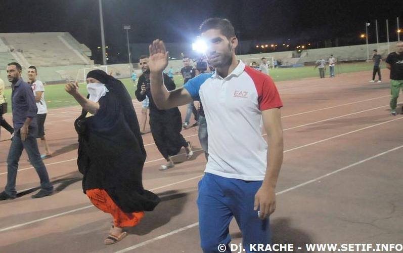 Djabou honoré par son club formateur l'ES Sétif