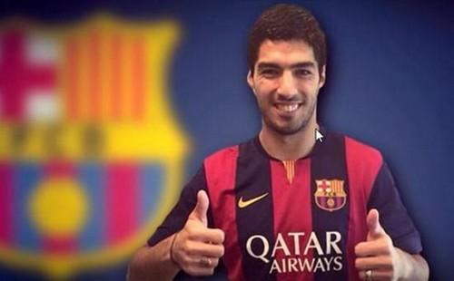 سواريز ينتقل رسميا إلى برشلونة مقابل 94.5 مليون يورو