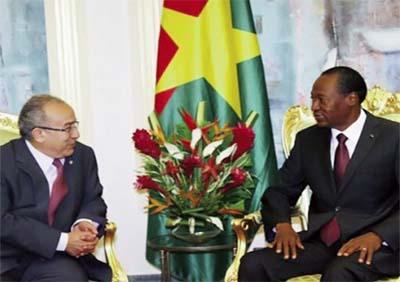 L'Algérie et le Burkina Faso sur la «même longueur d'onde»