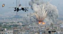 GAZA BRULE AU VU ET AU SU DE TOUT LE MONDE