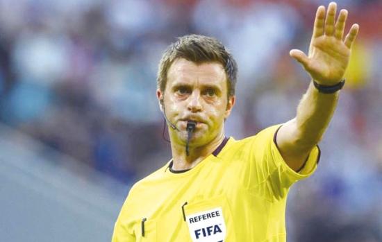 تعيين الإيطالي نيكولا ريتزولي لقيادة المباراة النهائية