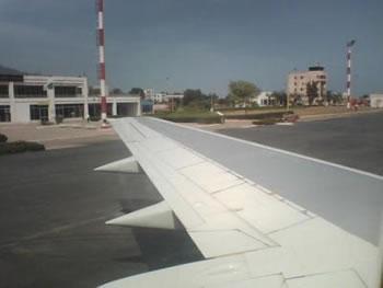 La piste d'atterrissage sera agrandie
