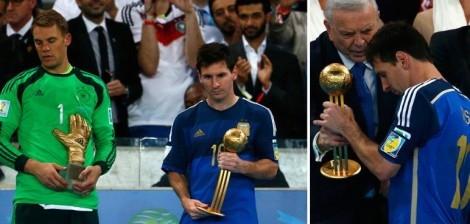 لماذا تم اختيار ميسي كأفضل لاعب في كأس العالم؟