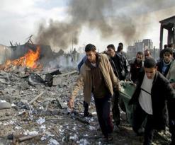 الاحتلال يكثف غاراته ويطالب الغزاويين بمغادرة منازلهم